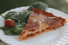 Gluten Free Stuffed Pizza #glutenfree #grainfree