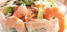 Salade Avocats, Crevettes, Pamplemousse - Jardin des gourmandsJardin des gourmands