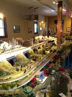 "from TripAdvisor:  ""If you like model trains, you have to check this place out.""  5 of 5 starsReviewed December 4, 2013 It's off the beaten path in Cape May, but worth searching out if model trains puts a smile on your face. They have three large layouts - mostly O-gauge - and all have some very nice scenery. The place is a labor of love for the two sons. The small entrance fee is totally worth it."