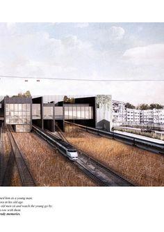 Harvard Gsd, Portfolio Review, Railroad Tracks, Architecture, Book, Free, Arquitetura, Architecture Design, Book Illustrations