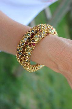 Celtic Bracelet Turquoise Roses Cuff Bracelet Wide Bracelet Floral Bracelet Turquoise Bracelet Boho Bracelet Rose Bracelet