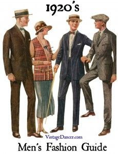 1920's Fashion for Men: A Complete Suit Guide - Updated!