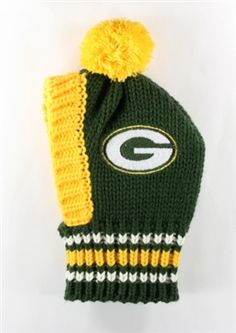 8005f8984e4 Hip Doggie NFL Knit Pet Hat Packers Nfl Officials