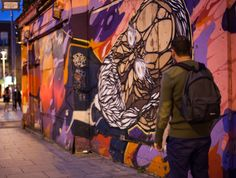 Creative Quarter, Dublin. The block that stretches from South William Street to George's to Exchequer Street is a genuine hub for artisanal boutiques, cafés, creative studios and some damn funky street art.