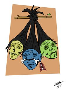 Shrunken Heads by BlackSnowComics