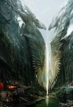 Guild Wars 2 - Ebonhawke. Arron's fav area in the entire game<3