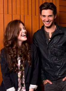 Georgia Henley and Ben Barnes