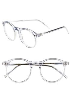 Cool! Clear frames