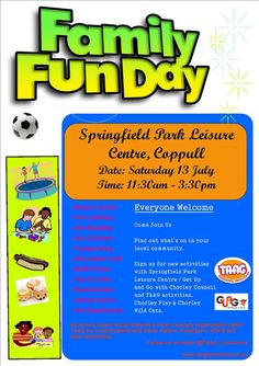 Hearts and Minds: Family Fun Day in Chorley, Lancashire for families with autism