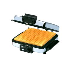 Black Decker 3 in 1 Waffle Maker indoor Grill Griddle Removable Plates Nonstick Waffle Maker Reviews, Best Waffle Maker, Commercial Waffle Maker, Pressed Sandwich, Waffle Machine, How To Make Waffles, Russell Hobbs, Kitchen Grill, Indoor Grill
