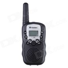 """""""Baiston T-388 22CH 0.5W 462MHz Walkie Talkie w/ 1"""""""" LCD, Flashlight, Monitor Function - Black"""". Frequency: 462MHz Power: 0.5W Channels: 22-CH Communication distance: 1~3KM (depending on the actual circumstances in terms) Power supply: 4 x AAA batteries (not included) Product function: 1 """" LCD LED backlight Channel scan Power display Call bell Monitoring function. Tags: #Electrical #Tools #Walkie #Talkies"""