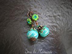 """Collection de bijoux Green Nature""     Photos©souslamansarde"