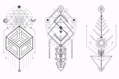Sacred Geometry. Magic totem vol.2 by Aleksandra Slowik on @creativemarket