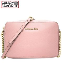 MICHAEL Michael Kors Jet Set Travel Large Crossbody - Crossbody & Messenger Bags - Handbags & Accessories - Macy's