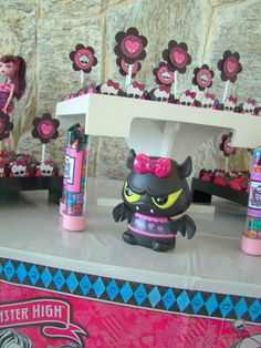 """Photo 1 of 40: Monster High Spa Birthday Party / Birthday """"Spa Party - Festa Spa """" 