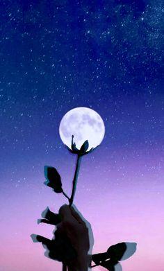 몽환적인 달 사진 💗 #달 #moon #보라 #우주 #배경화면 #아이폰 Night Sky Wallpaper, Black Phone Wallpaper, Tumblr Wallpaper, Sky Aesthetic, Flower Aesthetic, Perspective Photography, Nature Photography, Aesthetic Pastel Wallpaper, Aesthetic Wallpapers