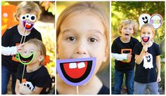 photo booth ideas halloween | Great Halloween photo booth props