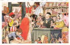 Sinterklaas in de speelgoedwinkel - Freddie Langeler