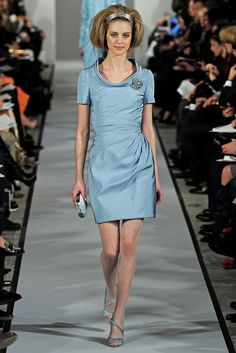 Oscar de la Renta Fall 2012 Ready-to-Wear Fashion Show - Kati Nescher