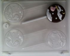 Flaying Stork Baby with Moon and Stars B038 Baby Chocolate Candy Mold *** Check out the image by visiting the affiliate link Amazon.com on image.