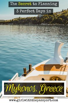 If you are planning a Mykonos Greece honeymoon or looking for Mykonos Greece things to do then check out this post that details how to spend three days in Mykonos, with some Mykonos photography too.