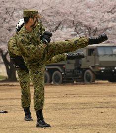 Military, Japan, Green, Japanese, Military Man, Army