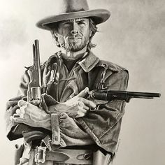 'Clint Eastwood sketch ' Poster by Petersnook Western Art, Western Cowboy, Actor Clint Eastwood, Eastwood Movies, Westerns, Old Movie Stars, Celebrity Drawings, Cowboy Art, Movie Poster Art