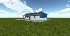 3D #architecture via @themuellerinc http://ift.tt/2rrT4SF #barn #workshop #greenhouse #garage #DIY