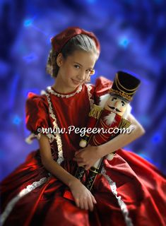 Pegeen Nutcracker Dress Nightgown for Clara