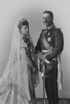 TT HH THE PRINCE AND PRINCESS OF REUSS HEINRICH XXX AND FEODORA OF SAXE-MEININGEN