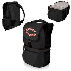 nice Chicago Bears Digital Print Zuma Cooler Backpack Black
