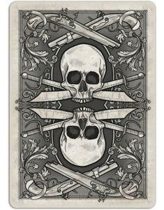 Pirates back illustration - Seven Seas on Kickstarter July '15