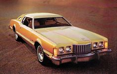 1976 Ford Thunderbird with Creme and Gold Luxury Group