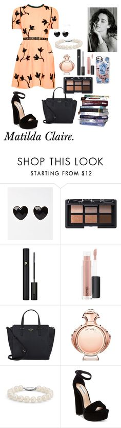 """Matilda Claire. House of the Raising Son."" by thatnellegirl on Polyvore featuring NARS Cosmetics, Lancôme, MAC Cosmetics, Kate Spade, Paco Rabanne, Blue Nile, Steve Madden and Casetify"
