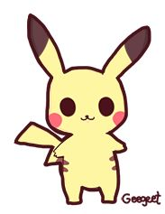 025 Pikachu by Geegeet