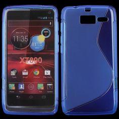 S-Line Transparent (Blå) Motorola RAZR i Deksel