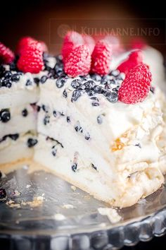 Pavlova, Bon Appetit, Delicious Desserts, Food And Drink, Cooking Recipes, Pudding, Sweets, Cookies, Chocolate
