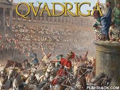 Qvadriga  Android Game - playslack.com , guide your team of carriages motorists. appoint and train contestants. create successful strategies.