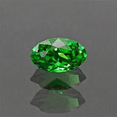 Exceptional Neon Green Tsavorite Gemstone from by KosnarGemCo
