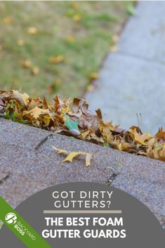 Cleaning gutters is a pain. Having gutter guards can significantly cut back on the maintenance needed to keep your house safe from water damage. But are foam gutter guards the right choice for your home? It depends on a few things, like climate, the type of gutters you have, or the kind of debris you're dealing with. We'll help you figure out whether foam is the right material and which products will work best for you. #foamgutterguard #gutterguards #gutterstuff #gutters Water Damage, Clever, Backyard, Cleaning, Type, House, Products, Patio