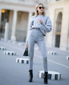 Look street style da Paris Fashion Week.