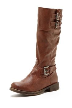 Brown Knee High Boot