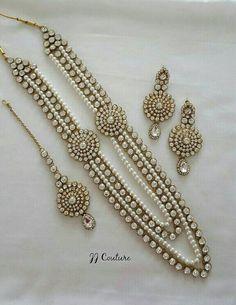 FREE SHIPPING Designer Pearl Kundan Jewelry Set by JJCOUTUREJEWELS - fine gold jewelry, diamond jewellery shop, online jewelry sales *sponsored https://www.pinterest.com/jewelry_yes/ https://www.pinterest.com/explore/jewellery/ https://www.pinterest.com/jewelry_yes/jade-jewelry/ https://www.stelladot.com/shop/en_us/jewelry/shop-all