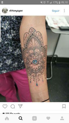 Hamsa Mandala Hamsa, Mandala, Tattoos, Tatuajes, Tattoo, Mandalas, Tattos, Tattoo Designs
