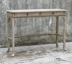 Was looking for a console table and this was the best find! I now own it and am looking for stools to tuck underneath for extra seating.