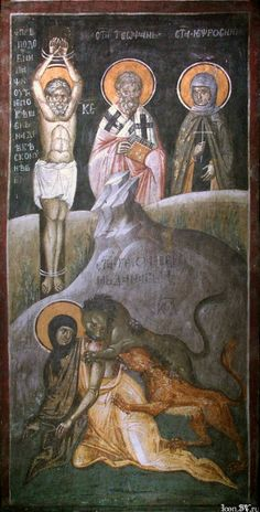 VISITA kudesnitsa: * Uguale agli Apostoli Tecla di Iconio Pervomuchenitsa *