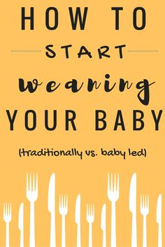 Traditional weaning, baby led weaning or both?