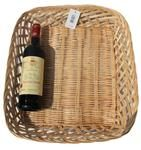 Openweave Wicker Tray Basket - 46x40x8cm