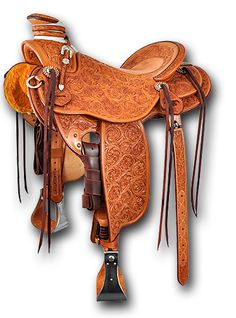 ❦ Martin Saddlery | The Wade design was inspired by California vaqueros many years ago. Its classic style is highly traditional, time tested and ranch cowboy proven. Well known for its comfort for long days in the saddle.