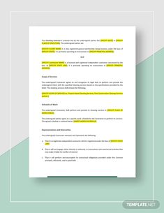 Cleaning Contract Template - Word (DOC) | Google Docs | Apple (MAC) Pages | Template.net Invoice Format In Excel, Cleaning Contracts, Engineering Management, Real Estate Templates, How To Improve Relationship, Proposal Templates, Financial Institutions, Report Template, Promote Your Business
